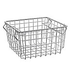 SALT 10.6-Inch Steel Storage Basket in Chrome