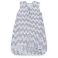Miracle Blanket® Large Chevron Miracle Sleeper® in Blue/Grey