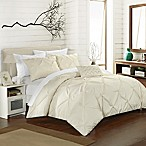 Chic Home Salvatore Queen Duvet Cover Set in Beige
