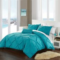 Chic Home Salvatore Twin Duvet Cover Set in Turquoise