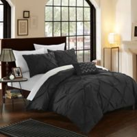Chic Home Salvatore King Duvet Cover Set in Black