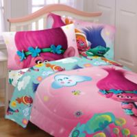 Trolls Hugs Full Sheet Set