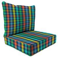 45-Inch x 25-Inch 2-Piece Deep Seat Chair Cushion in Sunbrella® Connect Cosmic