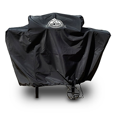 Pit Boss 440d Custom Fitted Grill Cover In Black Bed