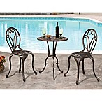 Abbyson Living® Nicola 3-Piece Bistro Set in Copper