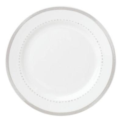 kate spade new york Charlotte Street™ West Dinner Plate in Grey  sc 1 st  Bed Bath \u0026 Beyond & Buy White Dinner Plates from Bed Bath \u0026 Beyond