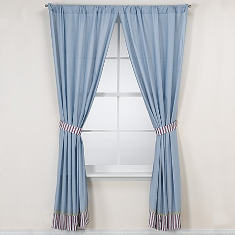 Kids Line Home Run Drapes With Tie Backs Bed Bath Amp Beyond
