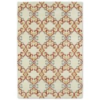 Kaleen Melange Needlepoint 2-Foot x 3-Foot Accent Rug in Ivory