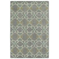 Kaleen Melange Needlepoint 3-Foot x 5-Foot Accent Rug in Pewter