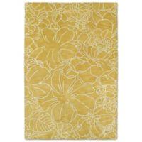 Kaleen Melange Garden Sketch 5-Foot x 7-Foot 9-Inch Area Rug in Yellow
