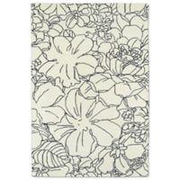 Kaleen Melange Garden Sketch 5-Foot x 7-Foot 9-Inch Area Rug in Ivory