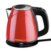 Chef's Choice® International Compact 1 qt. Cordless Electric Kettle in Red