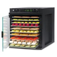Tribest® Sedona Express Digital Dehydrator with Stainless Steel Trays in Black