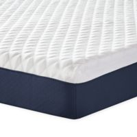 Therapedic® 10-Inch Firm Memory Foam Twin Mattress in White/Blue
