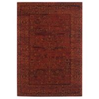 Safavieh Serenity Collection Bianca 4-Foot x 6-Foot Area Rug in Ruby/Gold