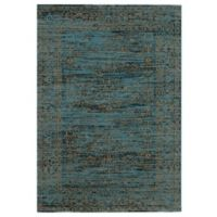 Safavieh Serenity Collection Bianca 8-Foot 6-Inch x 12-Foot Area Rug in Turquoise/Gold