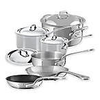 Mauviel 1830® M'cook 10-Piece Stainless Steel Cookware Set