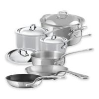 Mauviel M'cook 10-Piece Stainless Steel Cookware Set