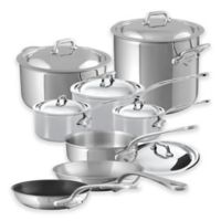Mauviel M'cook 14-Piece Stainless Steel Cookware Set