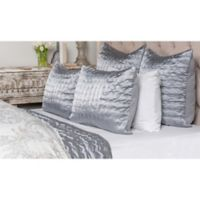 Villa Home Aura Queen Quilt in Storm Blue