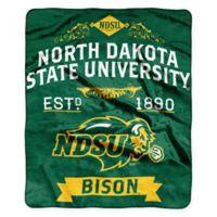North Dakota State University Raschel Throw