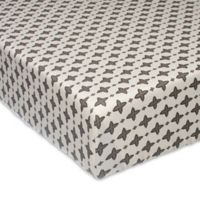 Glenna Jean North Country Emblem Fitted Crib Sheet