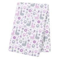 Trend Lab® Llama Friends Deluxe Flannel Swaddle Blanket