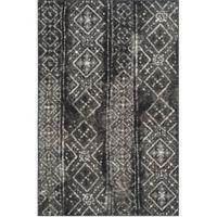 Safavieh Adirondack 5-Foot 1-Inch x 7-Foot 6-Inch Rug in Black/Silver