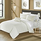 Chic Home Cranston 4-Piece King Duvet Cover Set in Beige