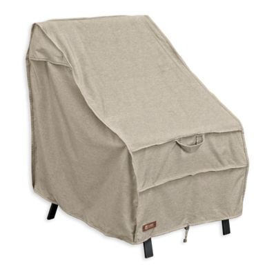 Classic Accessories® Montlake High-Back Patio Chair Cover in Grey  sc 1 st  Bed Bath u0026 Beyond & Buy High Patio Chair Cover | Bed Bath u0026 Beyond
