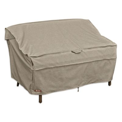 Classic Accessories® Montlake Medium Patio Bench/Love Seat/Sofa Cover In  Grey