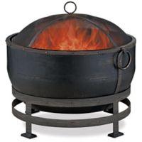 UniFlame® Endless Summer® Wood Burning Fire Bowl in Black
