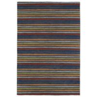 Kaleen Lily & Liam Serape 3-Foot x 5-Foot Area Rug in Grey