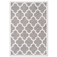 Safavieh Amherst 5-Foot x 8-Foot Indoor/Outdoor Rug in Dark Grey/Beige