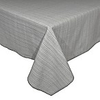 Terra Woven Lyon 60-Inch x 120-Inch Oblong Tablecloth in Grey