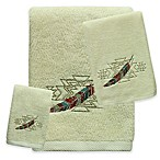Bacova Southwest Boots Fingertip Towel in Beige