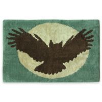 Bacova Discover the Wild 20-Inch x 30-Inch Bath Rug in Blue/Brown