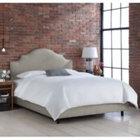 Skyline Furniture Sheffield King Bed in Groupie Pewter