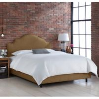 Skyline Furniture Sheffield California King Bed in Groupie Praline