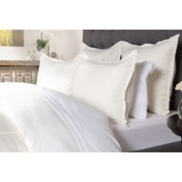 Villa Home Tessa Queen Duvet Cover in Ivory