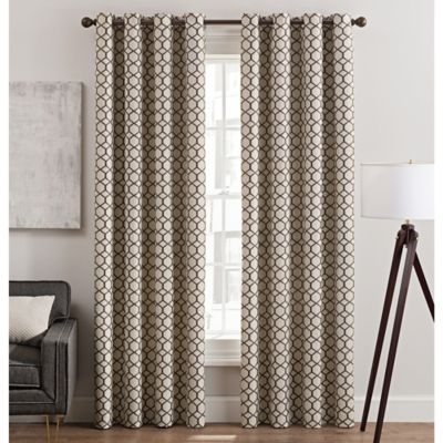 rankin grommet top window curtain panel
