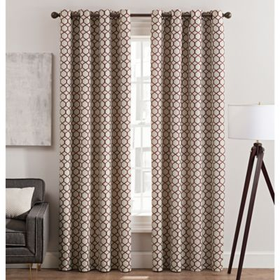 Curtains Ideas brown linen curtains : Buy 108-Inch Curtain Panels from Bed Bath & Beyond
