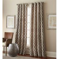 Hewlett 63-Inch Grommet Window Curtain Panel in Charcoal