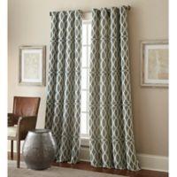 Hewlett 84-Inch Grommet Window Curtain Panel in Green