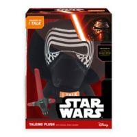 Star Wars™ Kylo Ren Deluxe Talking Plush Toy