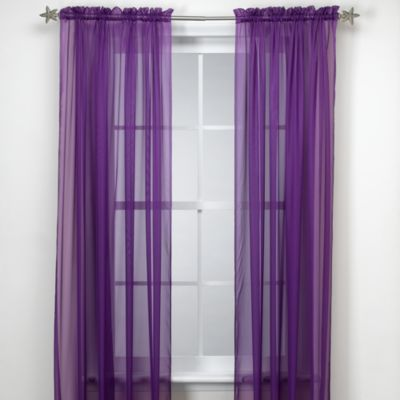 Super Buy Purple Sheer Curtains from Bed Bath & Beyond ES34
