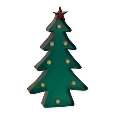 16 inch led christmas tree marquee - Holiday Time Christmas Tree