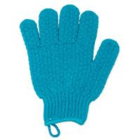 Paris Presents Daily Luxuries Exfoliating Gloves in Blue