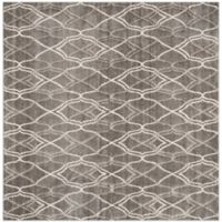 Safavieh Amherst Bridge Indoor/Outdoor7-Foot x 7-Foot Area Rug in Grey