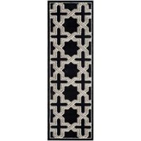 Safavieh Amherst Inter Indoor/Outdoor2-Foot 3-Inch x 7-Foot Area Rug in Anthracite